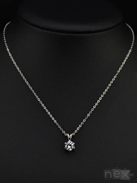 Комплект бижута 'Silver Joy' с кристали Swarovski Elements и 18K златно покритие