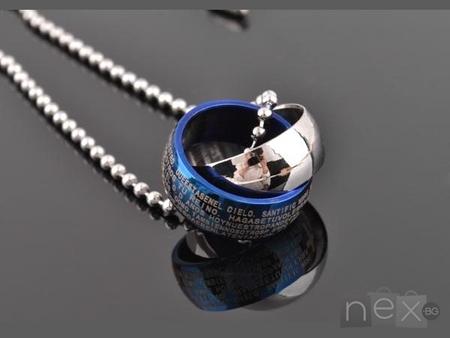 Unisex медальон 'Daniel' 316L