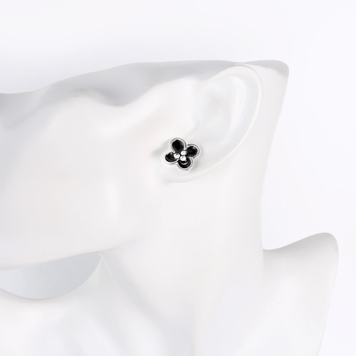 Комплект колие и обеци МАЙОРКА с 18К Бяло Злато, Колекция Zerga Brand Код 18KG S91012-C