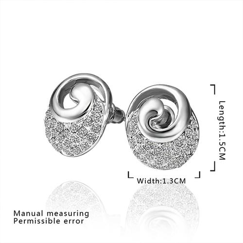 18KG E59238 Обеци КАЗАБЛАНКА, Zerga Jewelry