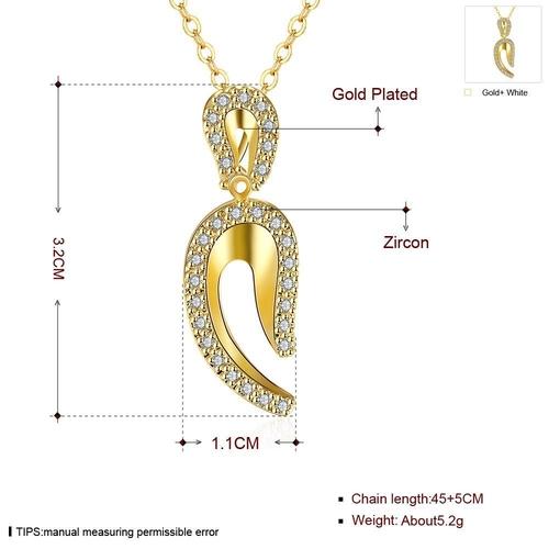 Колие ОРИОН с 18К Жълто Злато, Zerga Brand, Код 18KG N01214-A