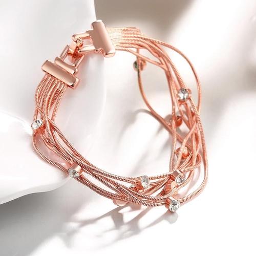 Гривна АРЕНА, Zerga Brand, 18К Розово Злато, Код 18KG B02029