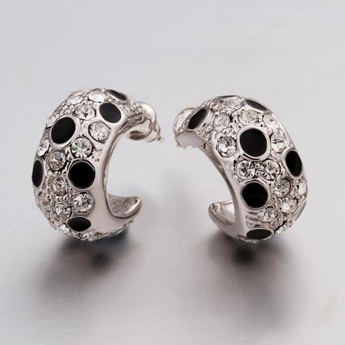 18KG E48431 Обеци ПРЕЛЕСТ халки, Zerga Jewelry