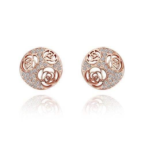 18KG E50131 Обеци ПОЕЗИЯ, Zerga Jewelry