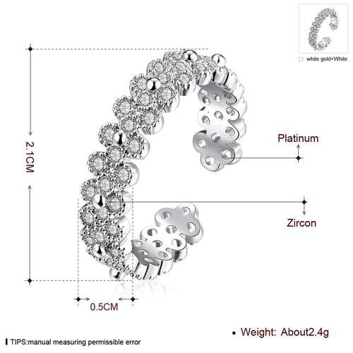 Пръстен СТИЛ, Zerga Brand, Код 18KG R02122-B