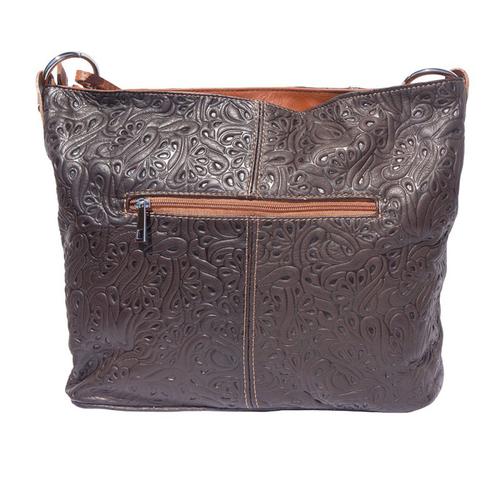 Чанта Естествена Кожа БИАНКА, FLORENCE, кафяв цвят, Код FL3016S7
