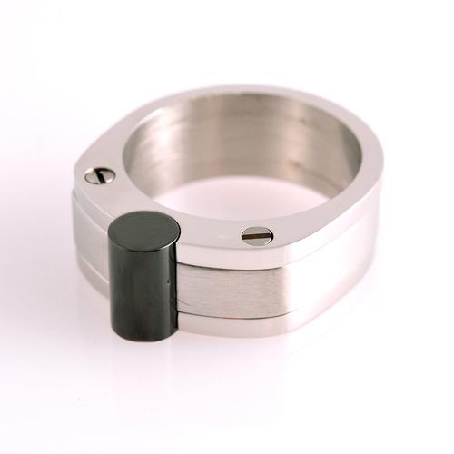 Мъжки пръстен ЦЕЗАР, стомана 316L, размер 11 и 12, 316L R019