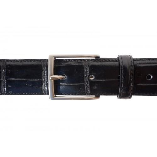 Мъжки колан Естествена Кожа УДИНЕ, FLORENCE, черен цвят, Код FL 31952