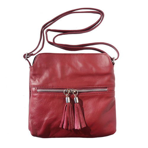 Чанта Естествена Кожа РАВЕЛО, FLORENCE, цвят бордо, Код FL61101