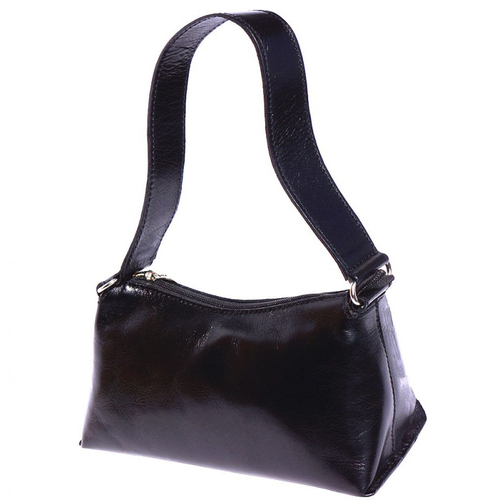 Чанта Естествена Кожа БРУНИ, FLORENCE, черен цвят, Код FL65045