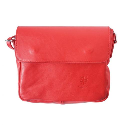 Чанта Естествена Кожа ПАЛЕРМО, FLORENCE, червен цвят, Код FL86928
