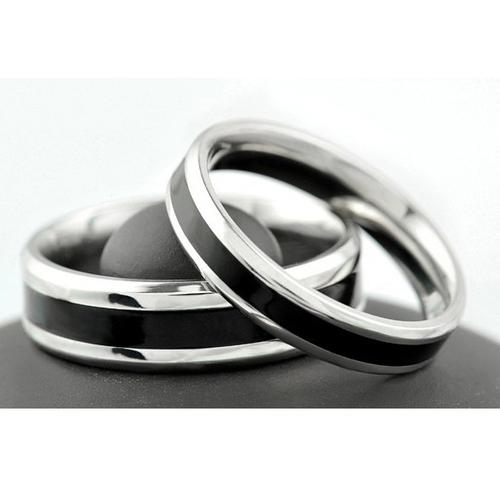 Пръстен ДОВЕРИЕ, халка от стомана. Размери 5, 6, 7, 8, 9 и 10, код 316L R105