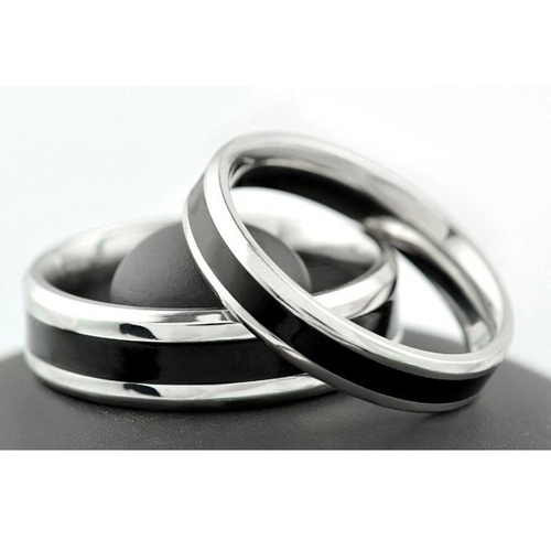 Пръстен ДОВЕРИЕ, халка от стомана. Размери 5, 6, 7, 8, 9 и 10, код 316L R105-А
