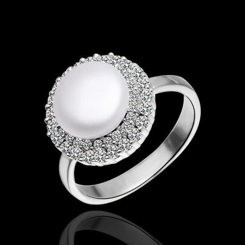Перлен пръстен МАРГАРЕТ, бижута от Колекция Перли Caprice, CPR R05017