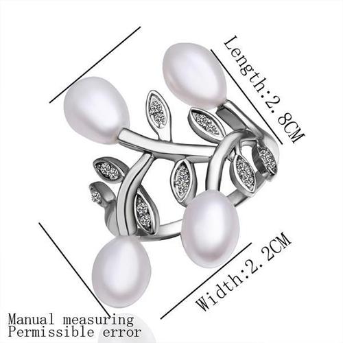 Комплект бижута ФРЕДЕРИКА от Перли Caprice. Колие, обеци и пръстен, CPR S05058