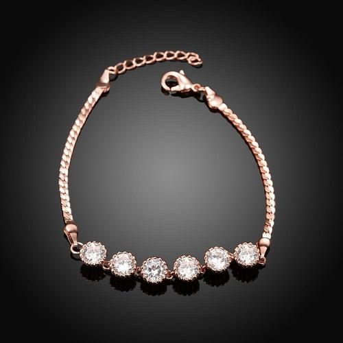 Гривна СИЕНА с розово златно покритие, Zerga Brand,  Код 18KG B03144-B