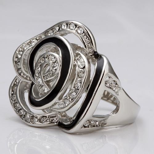 18KG S38297-А Бижута ЧЕРНА ПЕРЛА! Колие, обеци и пръстен Zerga Collection