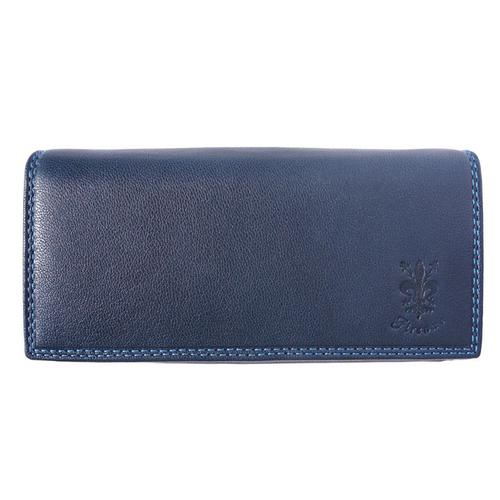 Портфейл Естествена Кожа САН ЛЕО, FLORENCE, син цвят, Код FL PF0544A