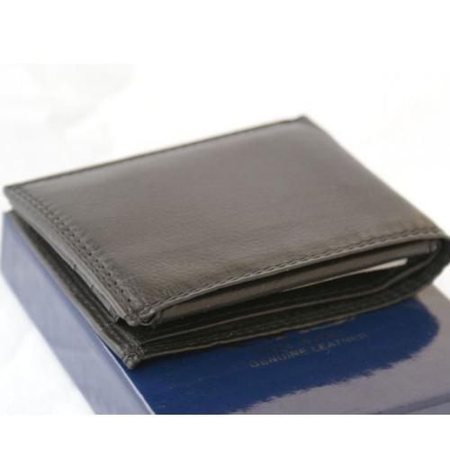 Портфейл Естествена Кожа ДОНАТЕЛО, FLORENCE, черен цвят, Код FL PF0682
