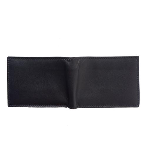 Портфейл Естествена Кожа НЕРО, FLORENCE, черен цвят, Код FL PF092