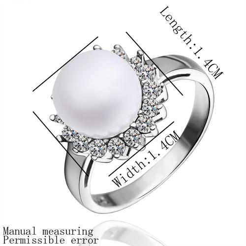 Перлен пръстен КЛЕОПАТРА, бижута от Колекция Перли Caprice, CPR R04072