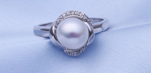 Перлен пръстен ПЕНЕЛОПЕ бижута от Колекция Перли Caprice, CPR R03083