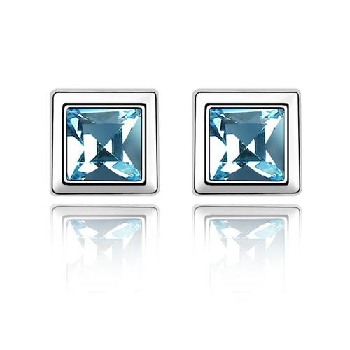 Бижута SWAROVSKI® BLUE MOOD Aquamarine AB - Светло син, Колие и Обеци,  Код PR S123