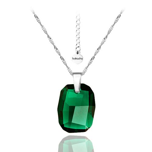 Колие SWAROVSKI® GRAPHIC 19мм Emerald, Зелен, Код PR N064A