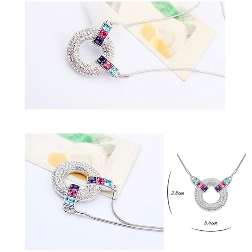 Колие SWAROVSKI® COLORFUL MOOD, Код PR N121