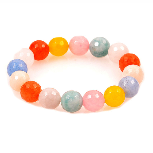 Гривна с естествени камъни многоцветни ПЪСТРА ЕСЕН, UB B020