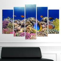 Декоративни панели за стена Vivid Home с уникален изглед от морското дъно