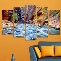 Декоративни панели за стена с приказен планински пейзаж