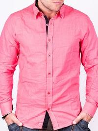 Розова мъжка риза Two Buck