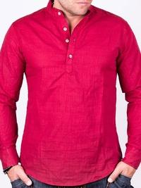 Червена мъжка риза X-Type