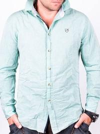 Зелена мъжка риза Barazza
