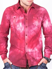 Червена мъжка риза Sergio