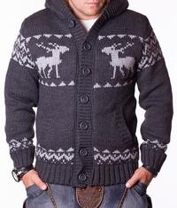 Мъжка зимна жилетка Koton Grey