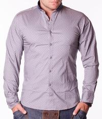 Мъжка риза Tony Moro сива