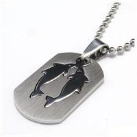 Unisex медальон 'Риби' 316L