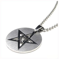Unisex медальон 'Star' 316L