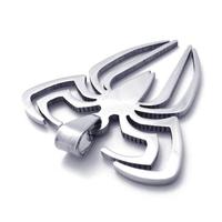 Unisex медальон 'Spider' 316L
