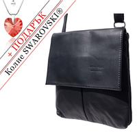 Чанта Естествена Кожа ПОРТОФИНО, FLORENCE, черен цвят, Код FL20861A