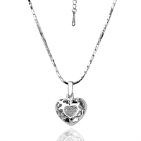 18KG N09240 Колие ВЛЮБЕНА, Zerga Brand Jewelry, бяло злато
