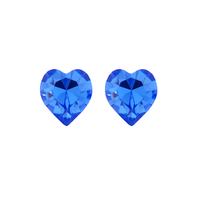 Обеци SWAROVSKI® SWEET HEART Sapphire, Син, 6 мм, Код PR E201