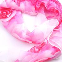 Шал-Фишу  РОЗИ в розово от UB Бутик, UB L102