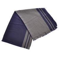 Луксозен мъжки шал СИНЬО и СИВО, колекция UB Бутик, Код UB L205