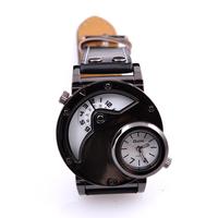 Ръчен часовник Oulm, 2 часови зони, кварцов механизъм, колекция UB Бутик, Код UB W007