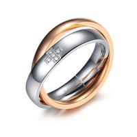 Пръстен БАЛАНС, дамска халка от стомана. Размери 5, 6, 7 и 8, код 316L R106-F