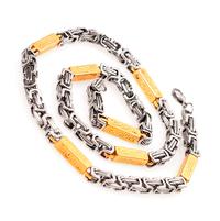 Ланец за мъж от стомана ВЕРСАЧЕ ГОЛД, код 316L N045
