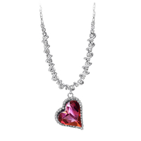 Колие PURPLE HEART NEW, ZYRDA Crystals from SWAROVSKI®, Код ZD N036